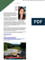 Enterrada a sexta vítima de acidente com van na BR-381 - Portal Uai - 15.03.2009