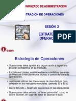 Sesión 2 -  Estrategia de Operaciones - CLASE
