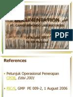 00 Documentation - Capri, August 2007