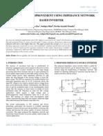 Power Quality Improvement Using Impedance Network Based Inverter