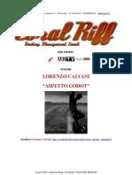 Comunicato Stampa - Lorenzo Calvani in Concerto Al Belleville