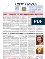 VFW NC Leader Newspaper January-March 2013