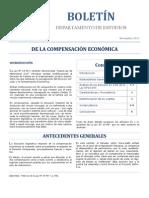 Compensación económica - Boletín CAJ RM