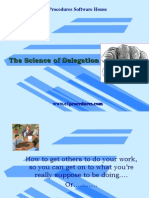 18 the Science of Delegation