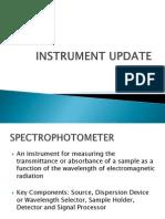 Instrument Update