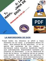 TEMA N° 5 MAYORDOMIA CRISTIANA