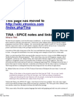 Tina Spice Notes