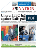 Friday Daily Nation Uhuru3