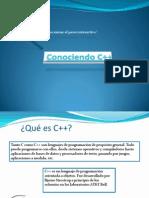 Conociendo C++