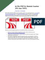 Cara Membuat PDF Mmenjadi Jpeg