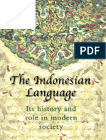 the Indonesian Language Its History and Role in Modern Society