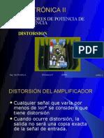 ELECTRÓNICA II UNIDAD IAMPLIF. DE POT DE BAJA FRECUENCIA SEP2009-ENERO2010