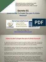 Plan Para Tu Vision Personal