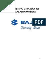 MARKETING STRATEGY OF BAJAJ AUTOMOBILES.doc