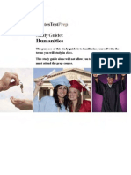 DTP CLEP Humanities Study Guide and Practice Test