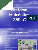 Sistema Hidráulico 785-C