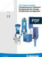 Compressed Air Treatment,Drier and Storage