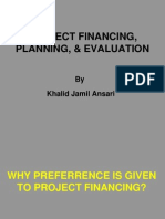 Modes of Project Financing