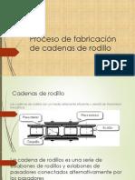 Proceso de fabricación de cadenas de rodillo