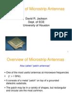 microstrip patch antenna -basics.ppt