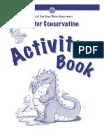 Water Activity Book