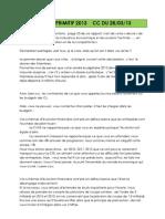Intervention Pg Cagb Budget Primitif 2013 Cc Du 28 Mars 2013