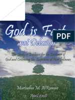 God is Fact, not Delusion