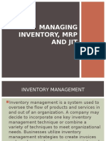 Managing Inventory, MRP and JIT.ppt