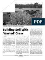 """Building Soil With """"Wasted"""" Grass"""