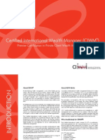 Certified International Wealth Manager (CIWM)