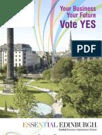 Essential Edinburgh Business Plan
