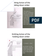 KNITTING MACHINE ACTIONS