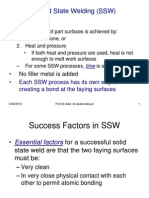 Welding Lecture 5 Solid State Welding Processes(- --)
