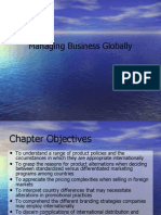 Managing Business Globally