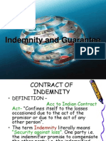 Indemnity and Gurantee1
