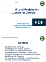 National Land Registration Program for Georgia