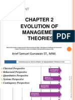 Management Chapter 2 - Evolution of Management Theories