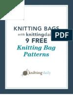 9 Free Bag Knitting Patterns