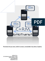 Carm-Control and Remote Monitoring