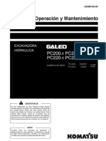 Manual Excavadora Komatsu Pc200lc 220lc