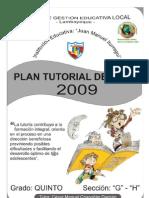 Plan Tutorial de Aula  - César Manuel Chapoñán Damián