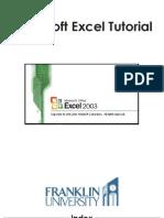 1 Excel Tutorial