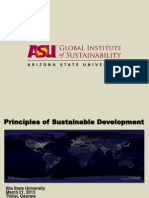 Robert Melnick - Public Lecture 3.19.13 - Principles of Sustainable Development