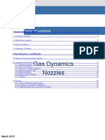 Gas Dynamics and Nozzle