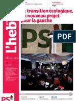 Hebdo n°688 - La transition écologique un nouveau projet pour la gauche