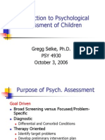Child Psych Assessment