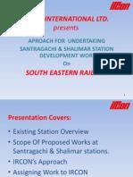 Proposed Santragachi Railway Station for S. E. Railway