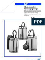 Grundfos KP Range Submersible Pumps.