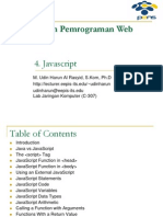 T4 - Javascript - Desain Dan Pemrograman Web