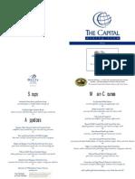 Capital Menu